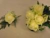 Corsage og brudepikebukett