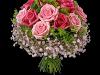 Søt rosa bukett