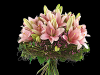 Rosa liljer